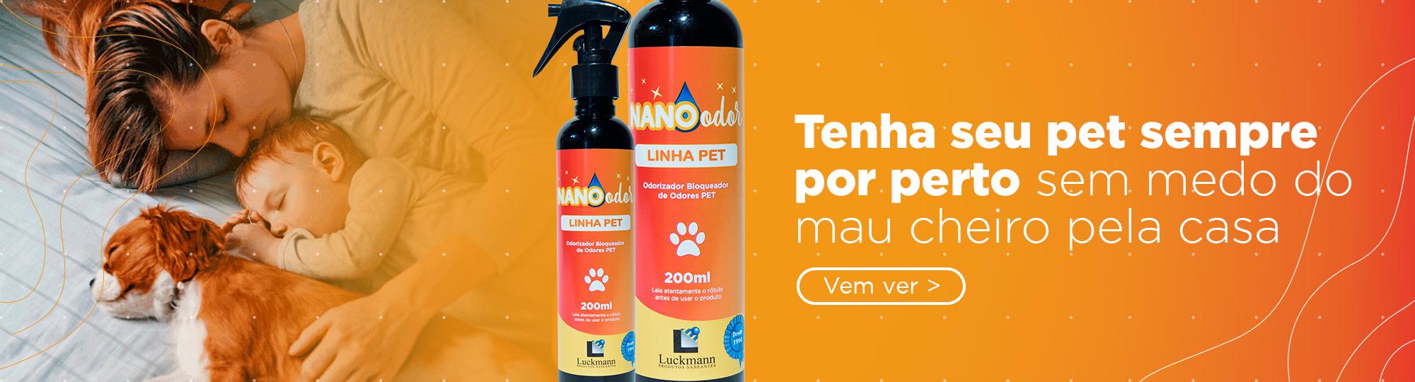 Linha Nano Odor Pet